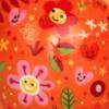 oranje-bloem-blij-caramel
